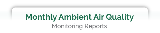 Monthly Ambient Air Quality Reports